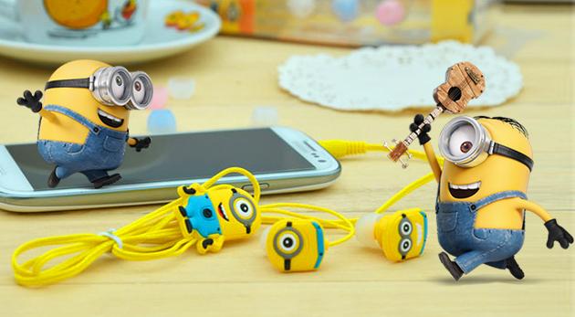 Buďte IN s tematickými slúchadlami z animovaného filmu Mimoni