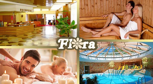 Wellness relax v Hoteli Flóra Dudince - last minute