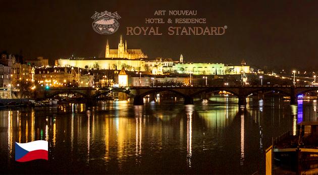 Hotel & Residence ROYAL STANDARD*** s výhľadom na Pražský hrad
