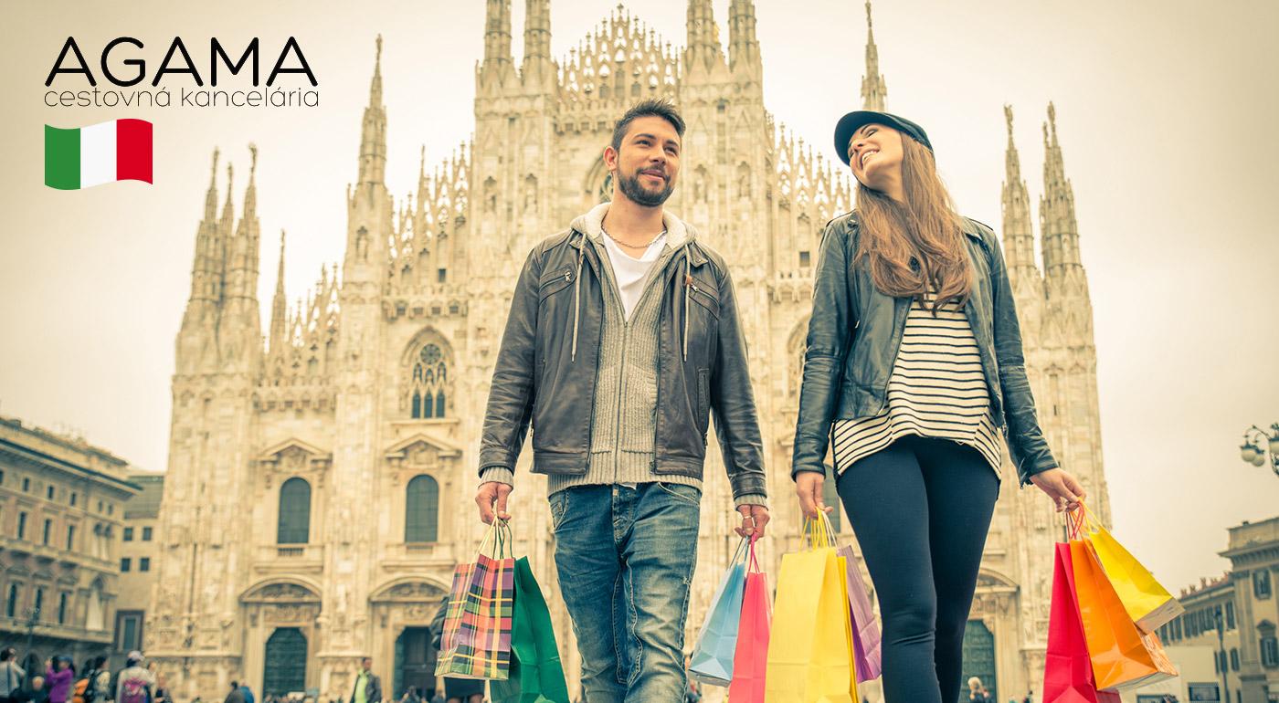 Miláno s novoročnými výpredajmi a prehliadkou centra