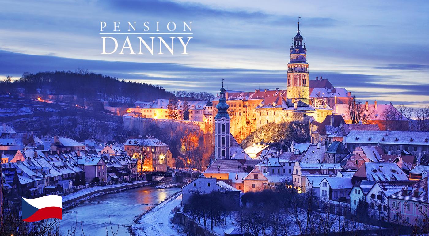 Malebný Český Krumlov počas 3 dní v Penzióne Danny s polpenziou pre dvoch
