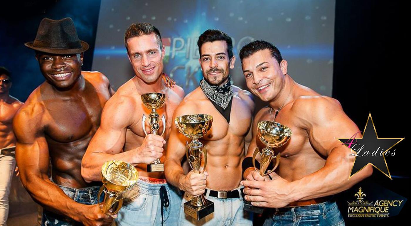Nespútaná zábava v prvom striptízovom klube výhradne pre dámy 4Ladies v Bratislave