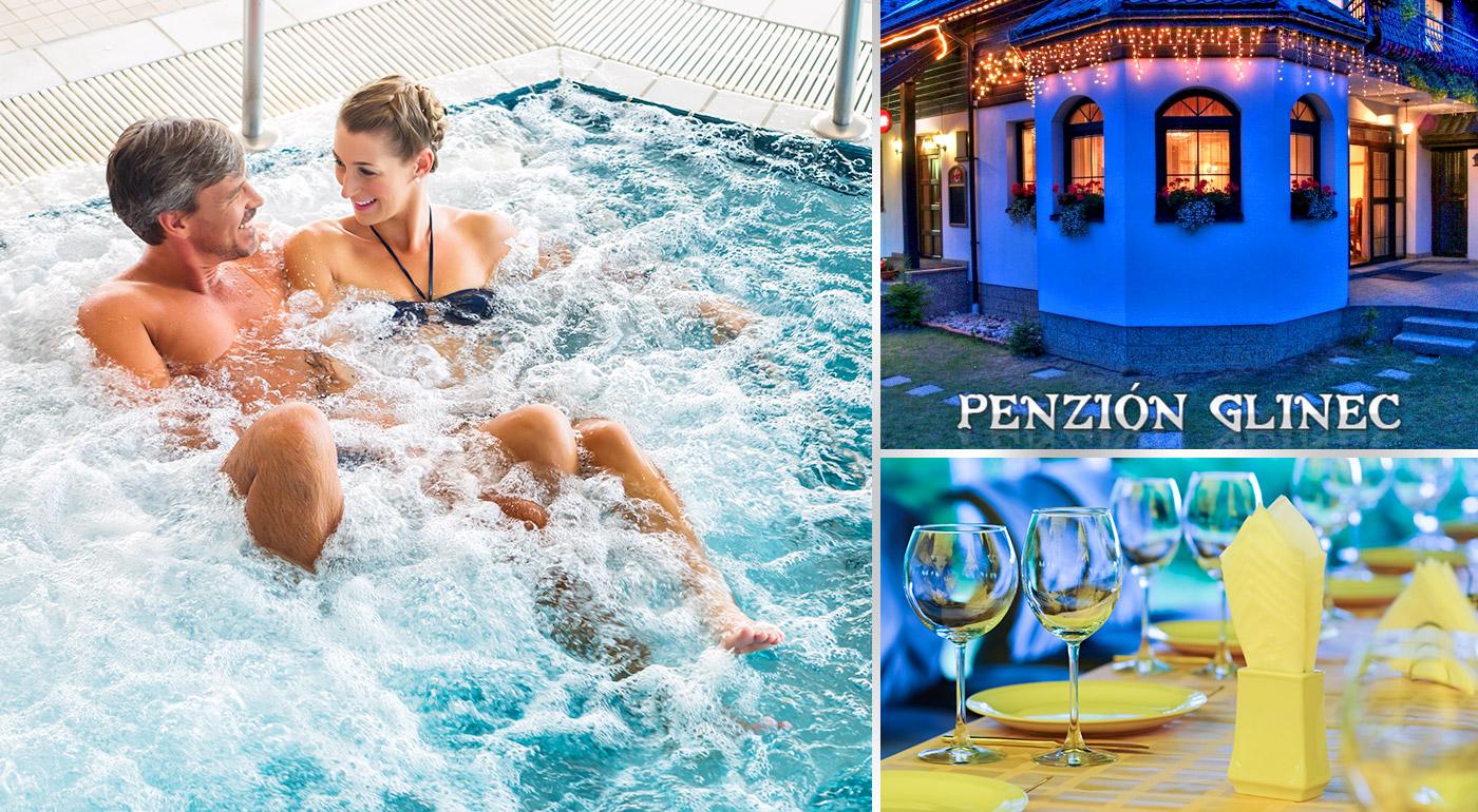 Zľava 57%: Relax na 3, 4 alebo 5 dní v centre kúpeľného mesta Vyšné Ružbachy v Penzióne Glinec už od 73 € s raňajkami alebo polpenziou. Deti do 15 rokov zadarmo!