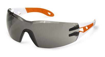 Okuliare UVEX - Pheos,  bielo-oranžové