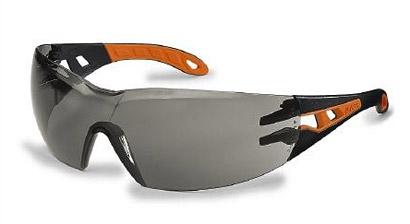Okuliare UVEX - Pheos, čierno-oranžové