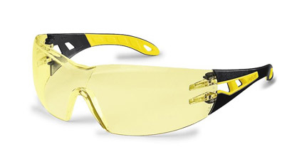 Okuliare UVEX - Pheos, amberové (žlté)