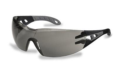Okuliare UVEX - Pheos,  čierno-sivé