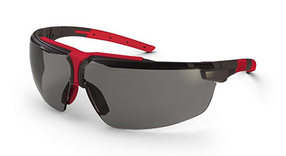 847c74546 Okuliare UVEX nové, červené + ochranné vrecúško UVEX z mikrovlákna