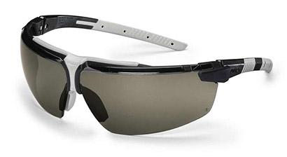 Okuliare UVEX nové, biele + ochranné vrecúško UVEX z mikrovlákna