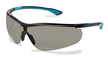 Okuliare UVEX Sportstyle, čierno-tyrkysový rám