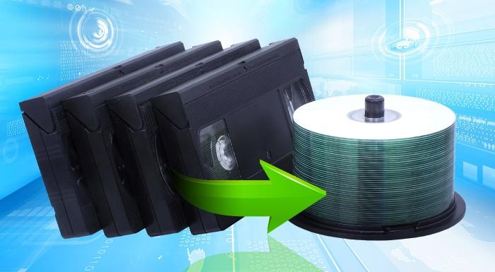 Profesionálna digitalizácia kaziet na DVD/CD