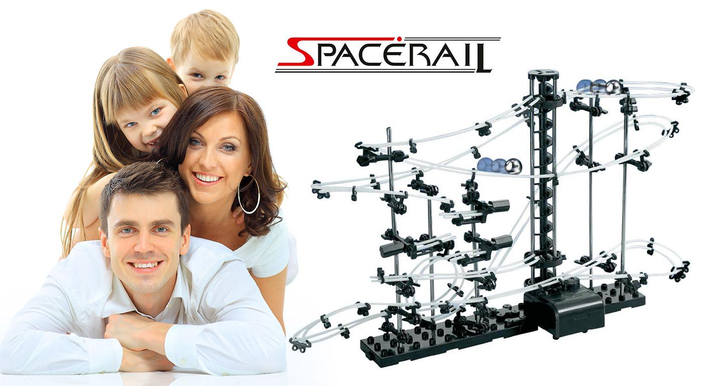 Guličkodráha SpaceRail - jedinečná hra, pri ktorej sa zabaví celá rodina