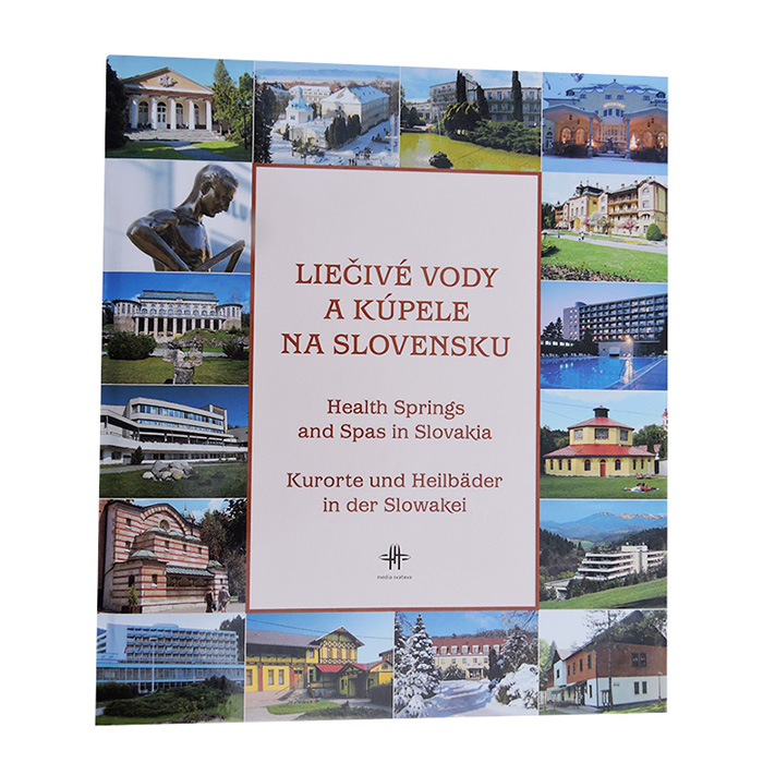 Kniha Liečivé vody a kúpele na Slovensku