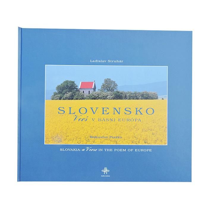 Kniha Slovensko – Verš v básni Európa