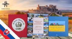 Zľava 48%: Obdarujte svojich blízkych jedinečným darčekom. Kvalitne spracované reprezentačné publikácie o Slovensku vydavateľstva Media Svatava už od 12 € . Na výber 5 titulov s množstvom ilustrácií.