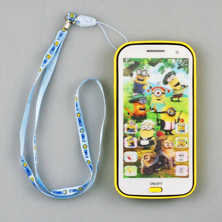 Detský mobil Mimoni - žltá farba