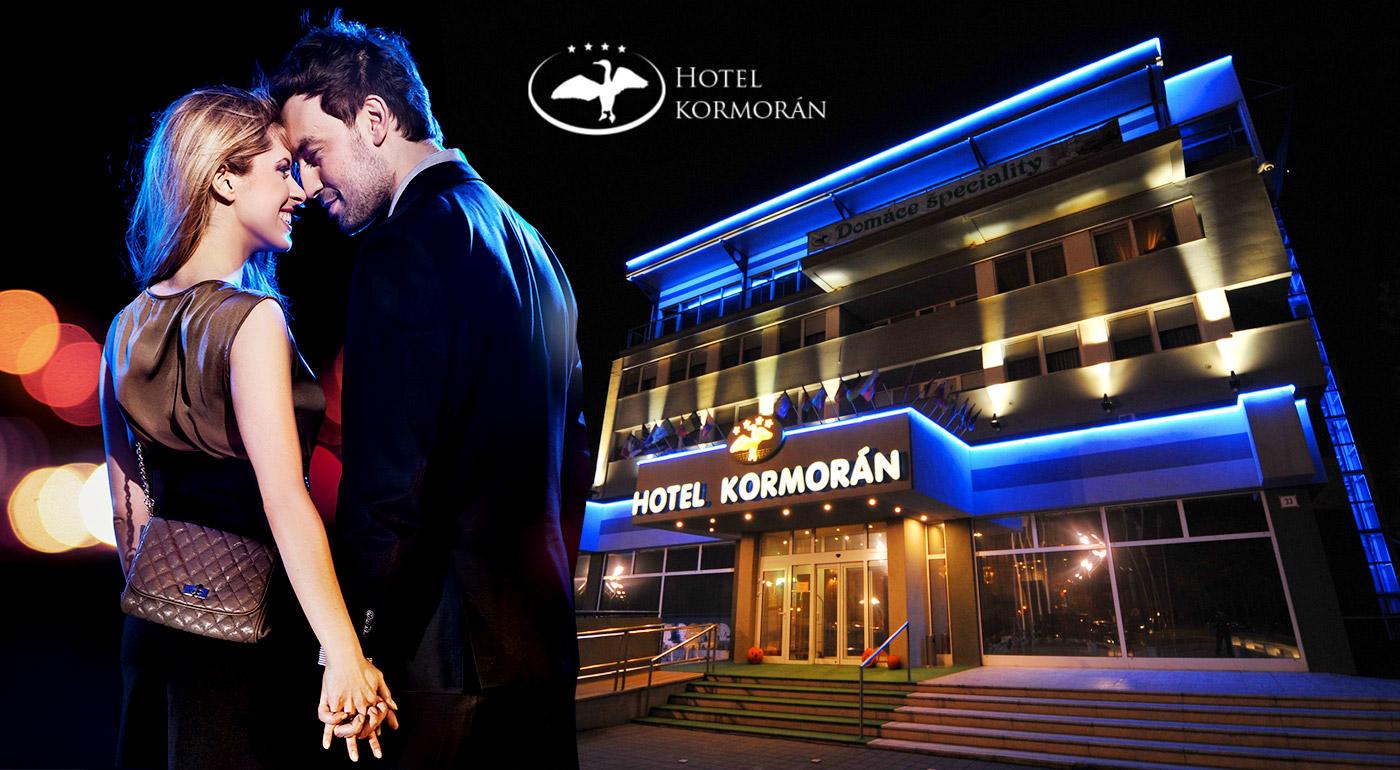 Večer plný romantiky neďaleko Bratislavy v Hoteli Kormorán**** v Šamoríne - Čilistove