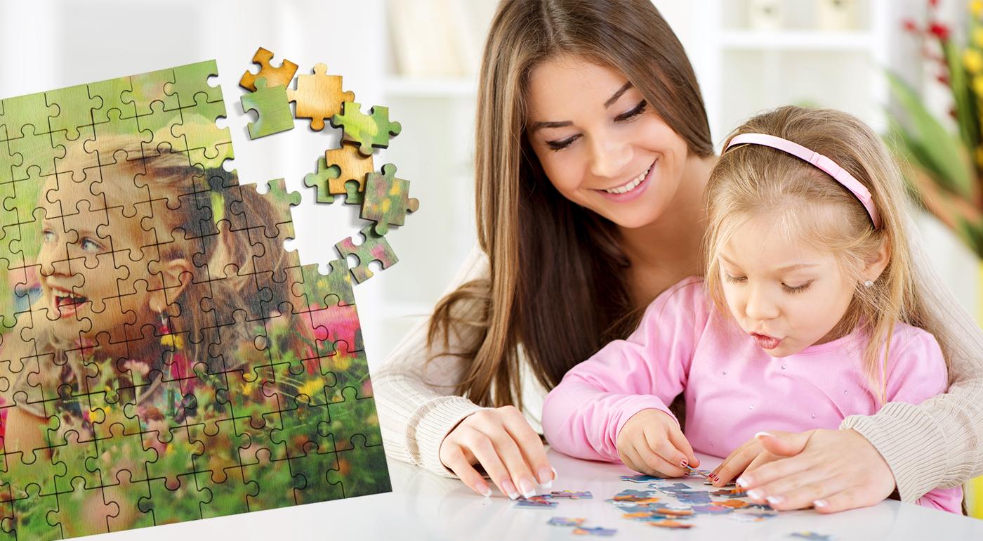 Drevené puzzle z vlastnej fotografie