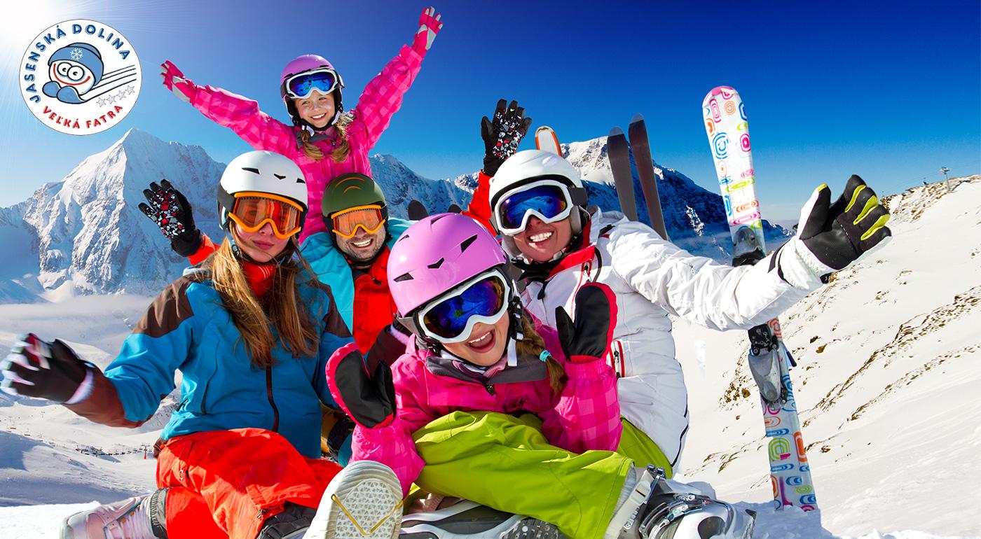 Fotka zľavy: Skipas na 3 hodiny v lyžiarskom stredisku KAŠOVÁ v Jasenskej doline už od 5 €. Užite si zimu, ako sa patrí! Lístky pre deti i dospelých.