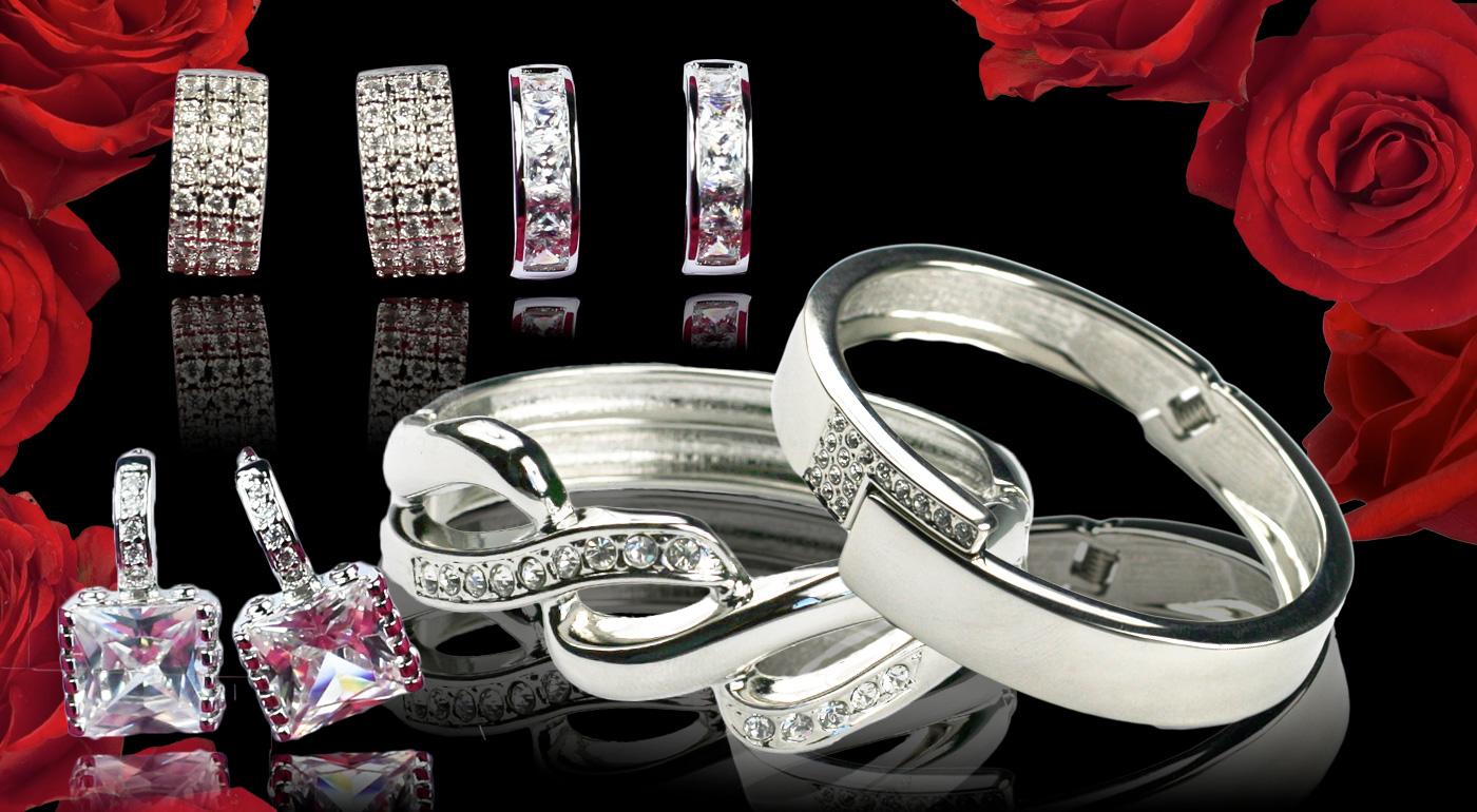 Krásne náramky a náušnice pre dámy s krásnou dušou