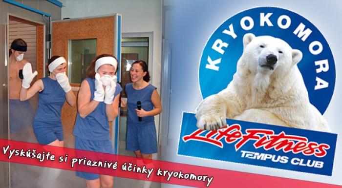 Kryokomora Tempus Košice - lekárska prehliadka a zapožičanie odevu v cene.