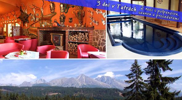 Fotka zľavy: Tatry za super cenu! 3 dni v Clubhoteli*** Nezábudka vrátane polpenzie, procedúr, večere v Kolibe a wellnessu len za 36,26€