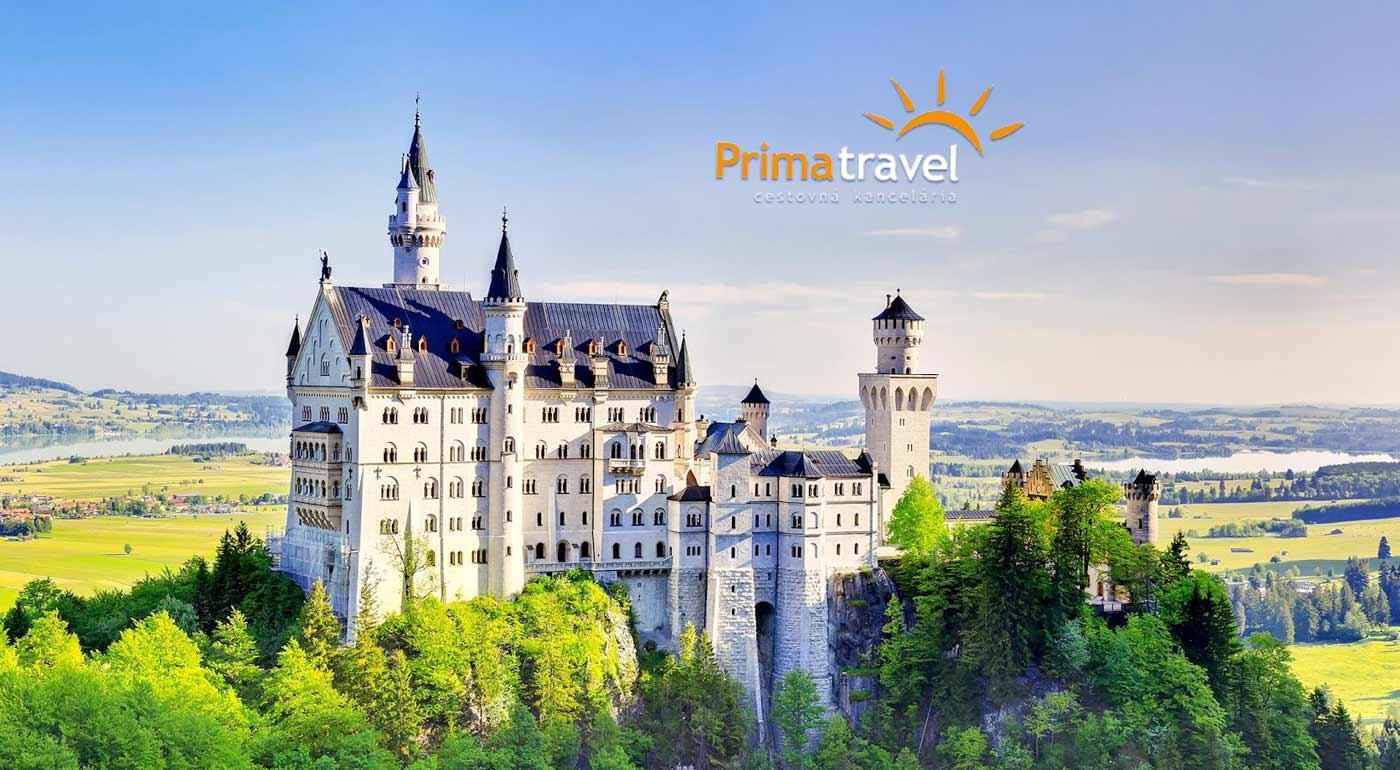 Fotka zľavy: Návšteva tých najkrajších zámkov Bavorska počas 2 dní s CK Prima Travel