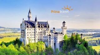 Zľava 30%: Rozprávkový zájazd do Nemecka - spoznajte najkrajšie bavorské zámky počas 2 dní len za 119 €. V cene doprava, ubytovanie v hoteli s raňajkami a služby sprievodcu.