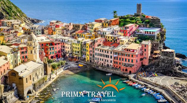 Fotka zľavy: Spoznajte Ligúriu, najkrajšiu oblasť Talianska. 5-dňový zájazd len za 199€ vrátane ubytovania v 3* hoteli s raňajkami, dopravy luxusným autobusom a služieb sprievodcu.