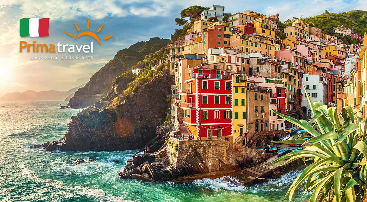 5-dňový poznávací zájazd do talianskej Ligúrie. Navštívite historický Janov, Portofino v Rajskom zálive a San Remo - mesto kvetov.