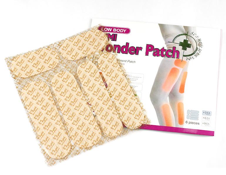 Chudnúce náplasti Wonder patch na nohy a zadok