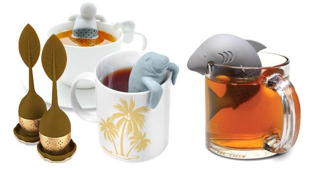 Milé sitká na čaj s originálnym dizajnom