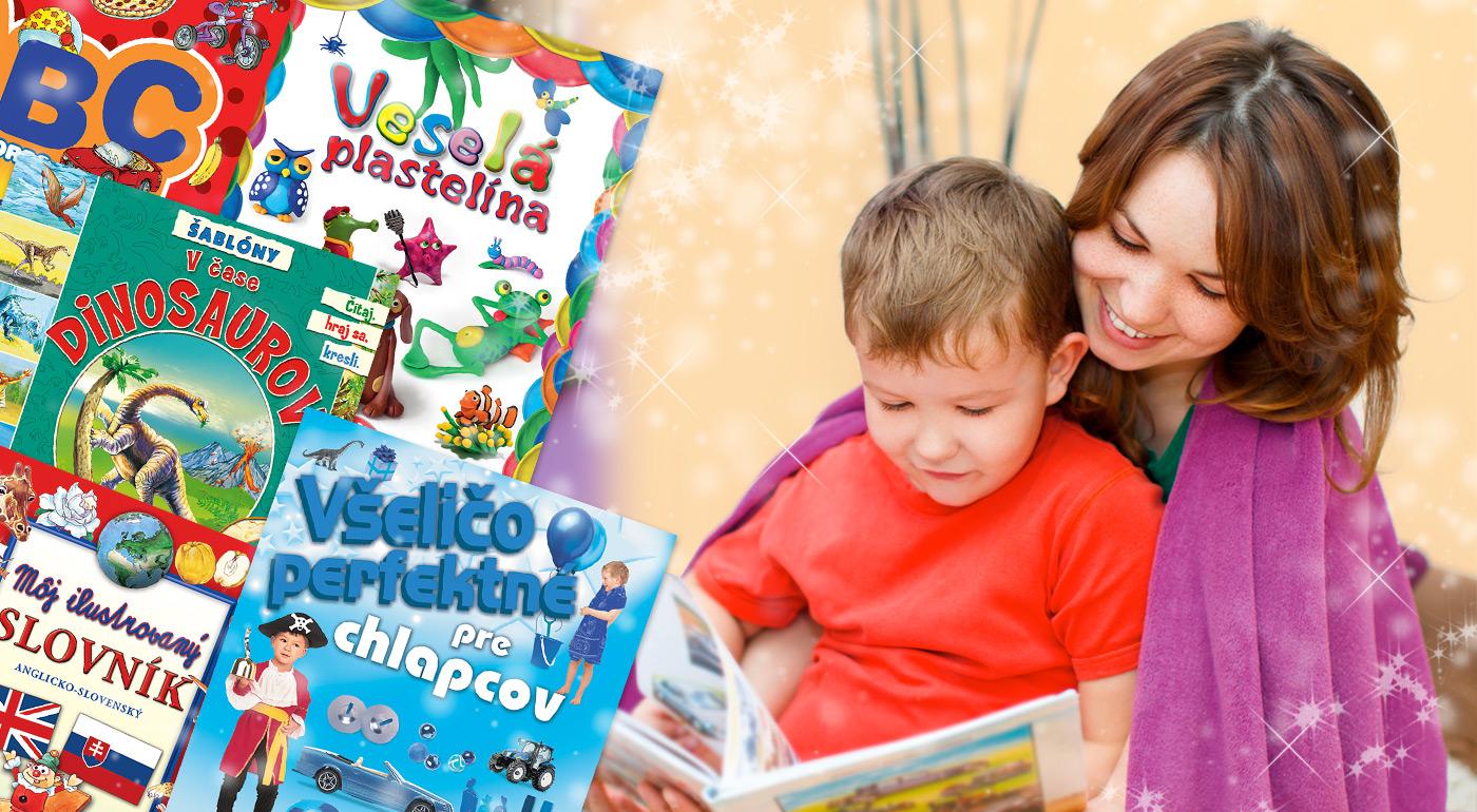 Krásne ilustrované knižky pre chlapcov aj dievčatá za skvelé ceny!