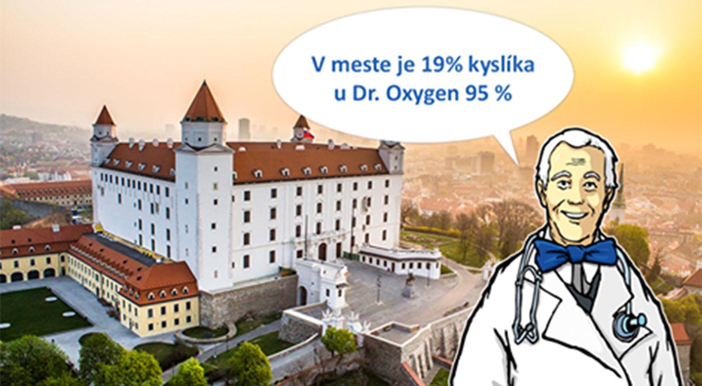 Hodinová oxygenoterapia s 95% kyslíkom alebo infúzna liečba vitamínom C v ambulancii Dr. Oxygen