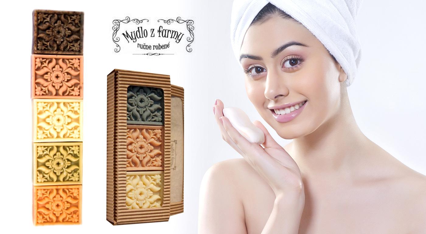 Voňavý darček - dekoratívne mydlo Antik alebo darčekové balenie Antik