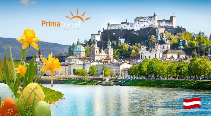Fotka zľavy: Spoznajte zaujímavé rakúske miesta, historické pamiatky alebo úchvatnú prírodu počas plavby po rieke Wolfgangsee. Užite si 2 dňový zájazd počas Veľkej noci do Salzburgu len za 109 € s CK Prima Travel.