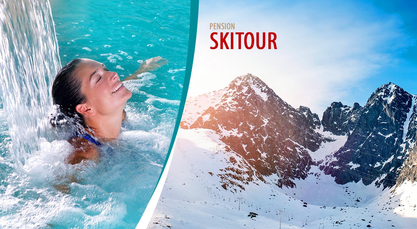 Zimný relax vo Vysokých Tatrách v Penzióne Skitour**+ na 3 alebo 4 dni