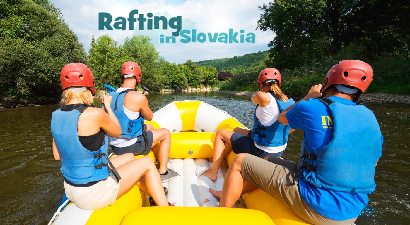 Adrenalínový raft v umelom kanáli v Liptovskom Mikuláši alebo pokojný splav rieky Váh