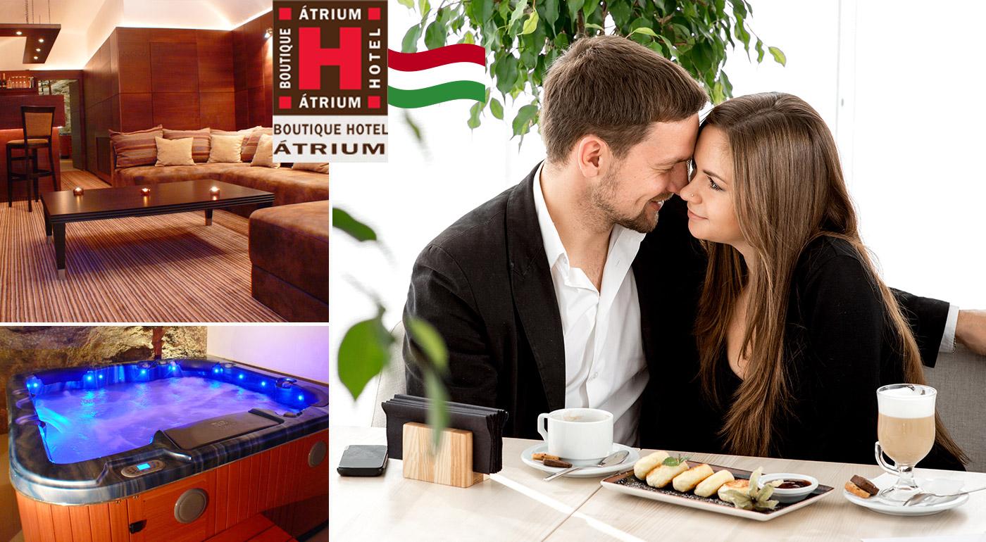 Fotka zľavy: Oddychové 3 alebo 4 dni pre dvoch v Atrium Boutique Hoteli v Ostrihome v Maďarsku len 5 km od slovenských hraníc už od 79 €! V cene raňajky, sauna a možnosti masáže!