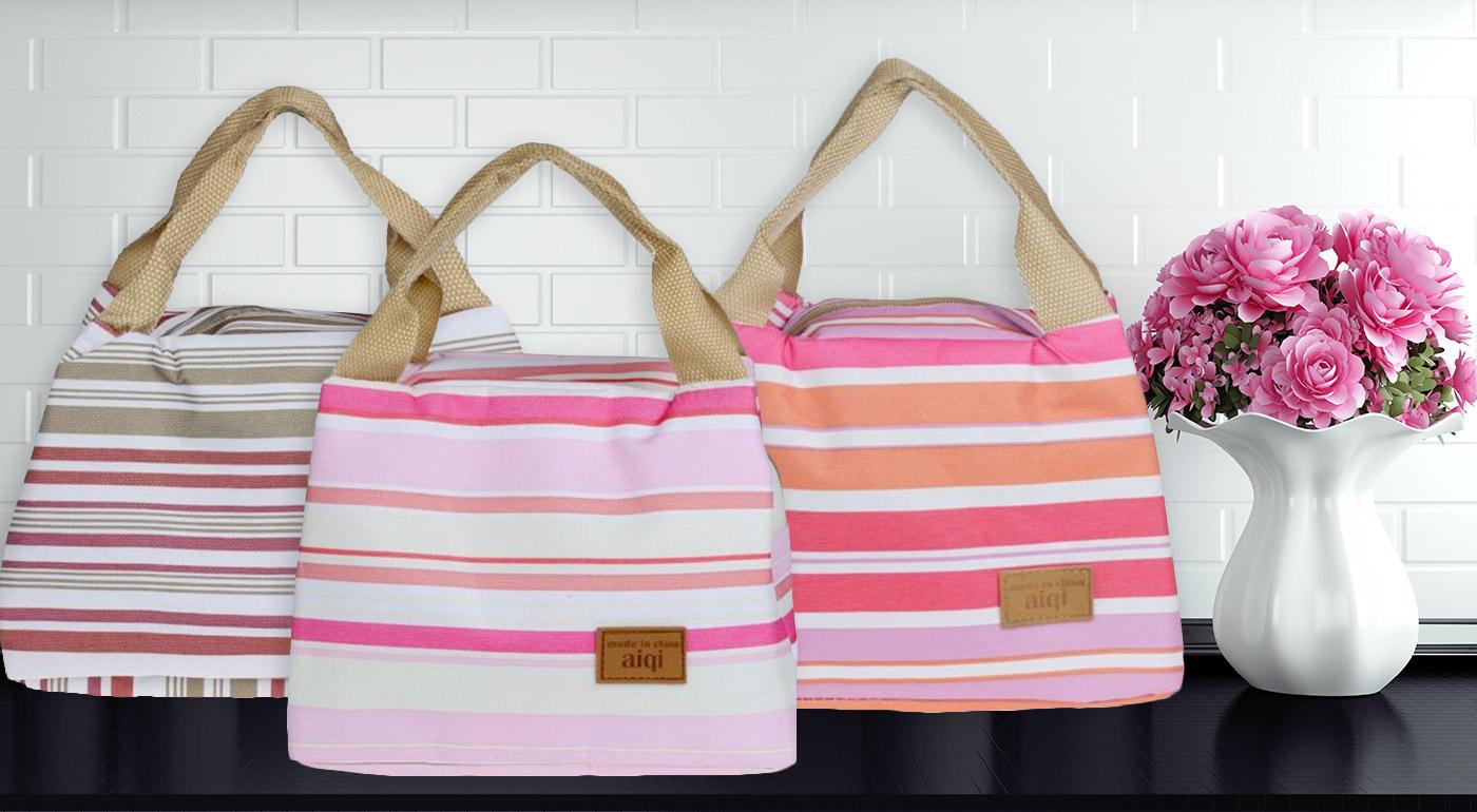 Štýlové a praktické termo tašky pre všetky dobroty a teplé čajíky