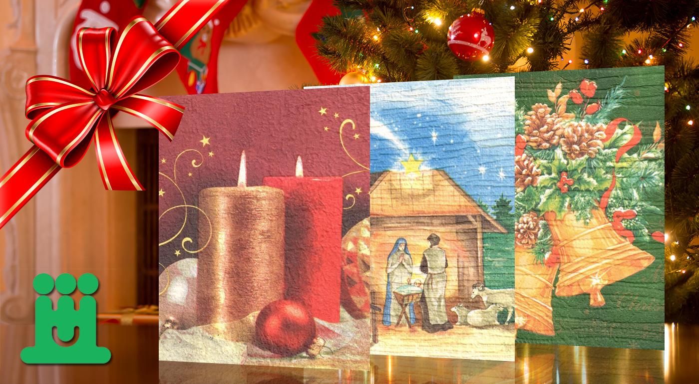 Podporte tých, ktorí to potrebujú - vianočné a novoročné ručne vyrábané pozdravy od ťažko zdravotne postihnutých detí