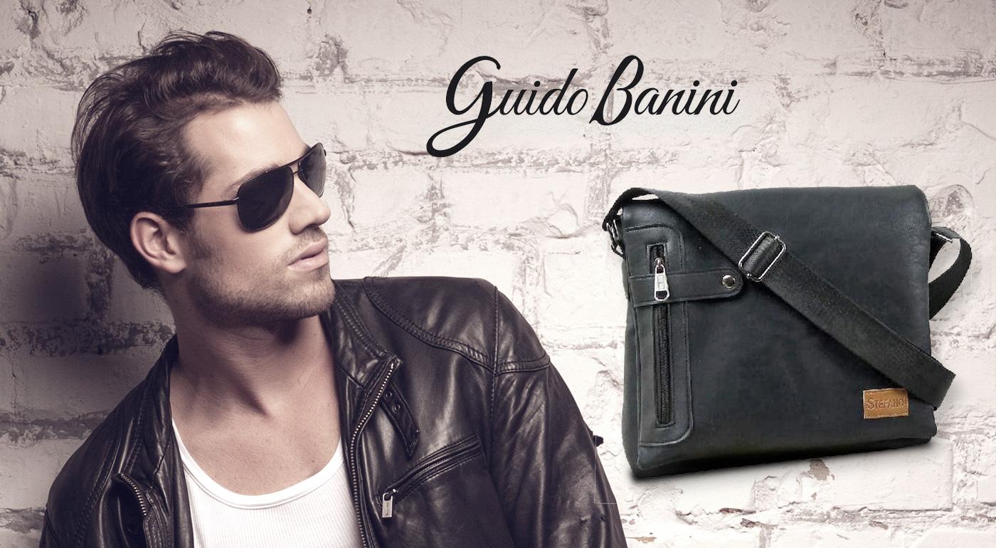 Fotka zľavy: Elegantná kožená taška STEFANO pre pánov len za 24,99 €! Zmestí sa do nej všetko potrebné - aj váš tablet!