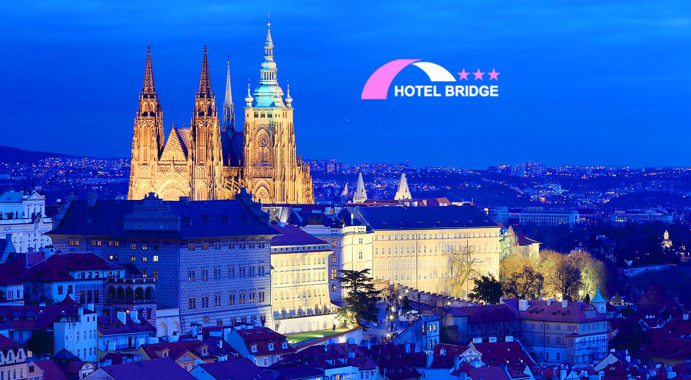 Čarovná Praha pre dvoch v Hoteli Bridge*** s raňajkami