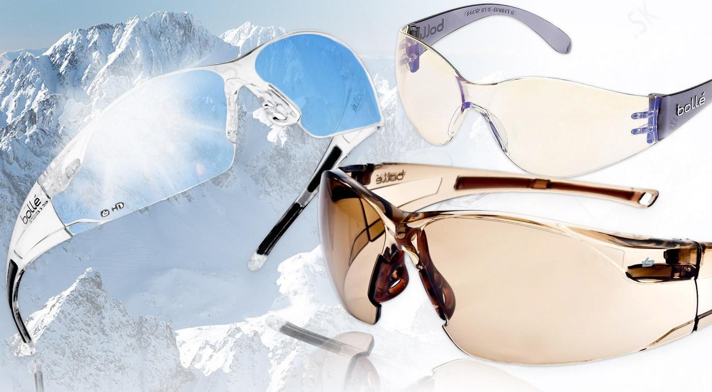 Štýlové a pohodlné športové okuliare Bollé BANDIDO a Bollé RUSH TWILIGHT pre ten najvyšší komfort a výhľad