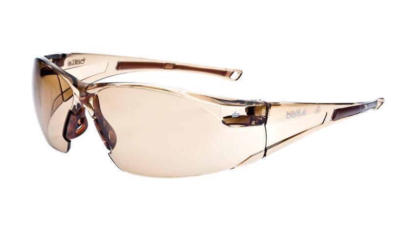 Športové okuliare Bollé Rush - bronzové