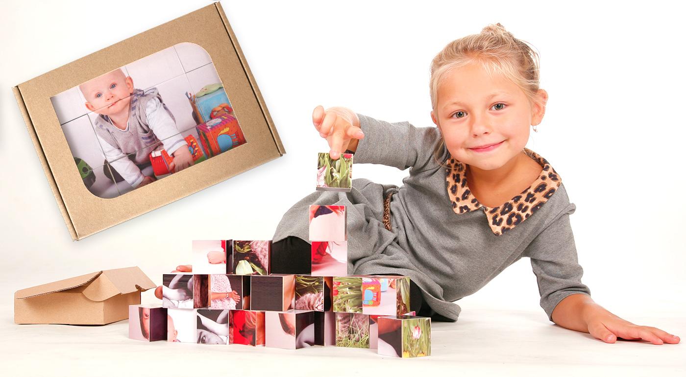 Originálne detské kocky s vlastnými fotografiami pre tie najkrajšie spomienky