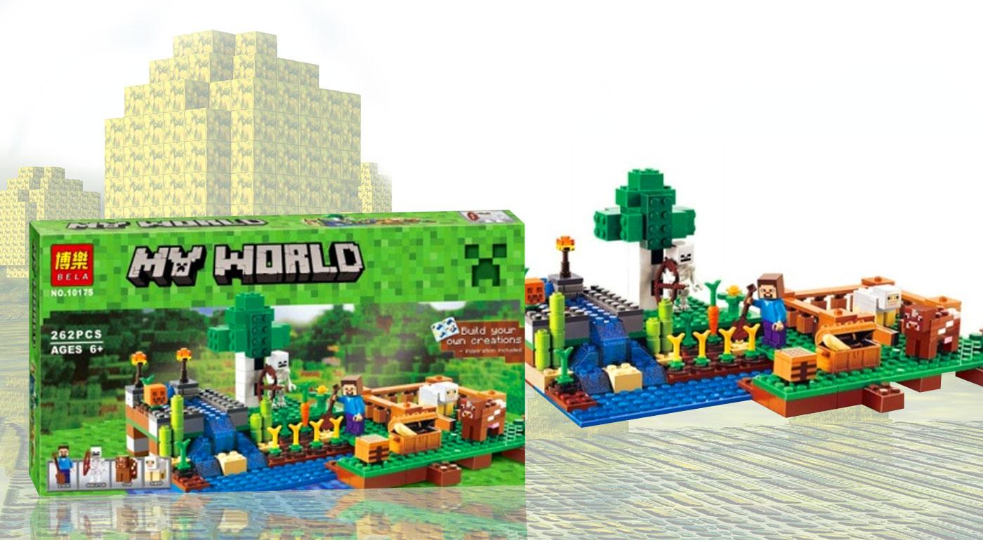 Minecraft My World - stavebnica kompatibilná s Legom