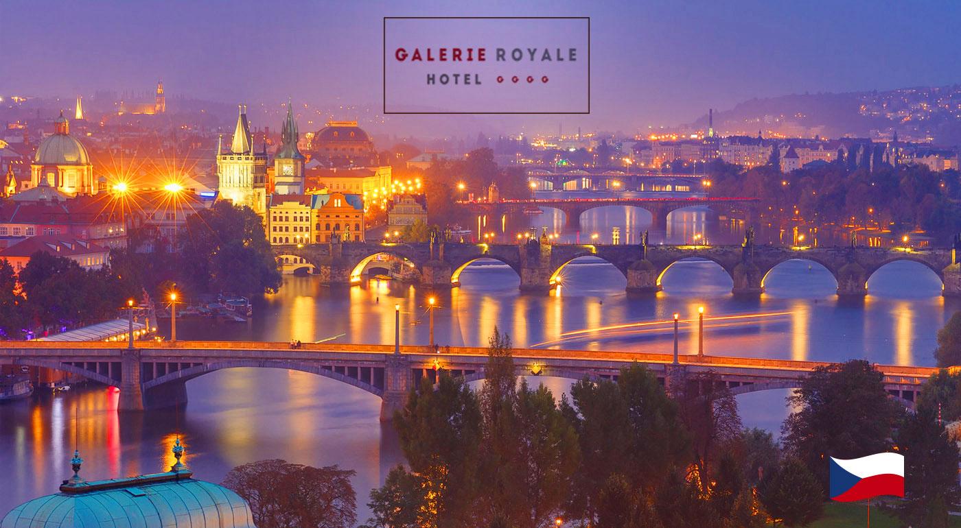 Praha pre dvojicu v luxusnom Hoteli Galerie Royale**** s raňajkami! Možnosť využitia aj cez víkend