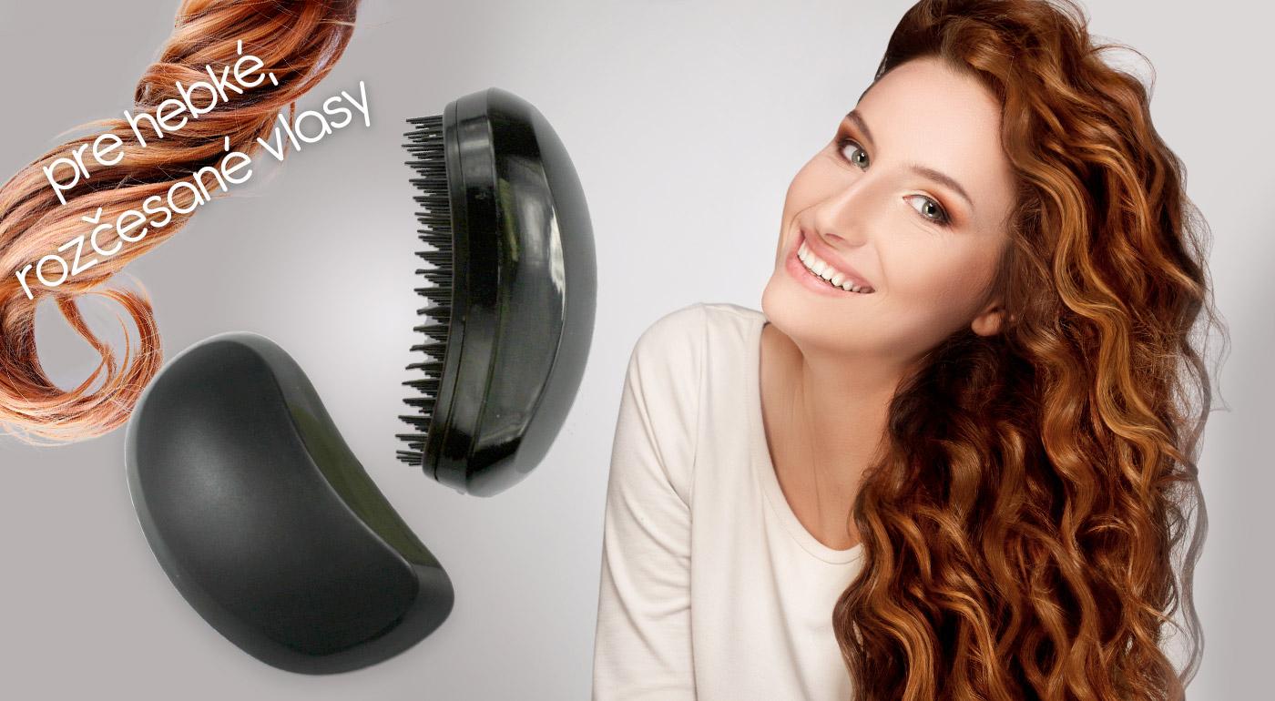 Pre krásne a hebké vlasy obľúbená kefa na rozčesávanie