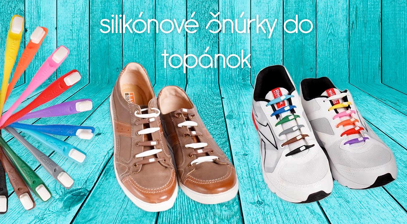 Koniec nudným topánkam - oživte ich praktickými silikónovými šnúrkami
